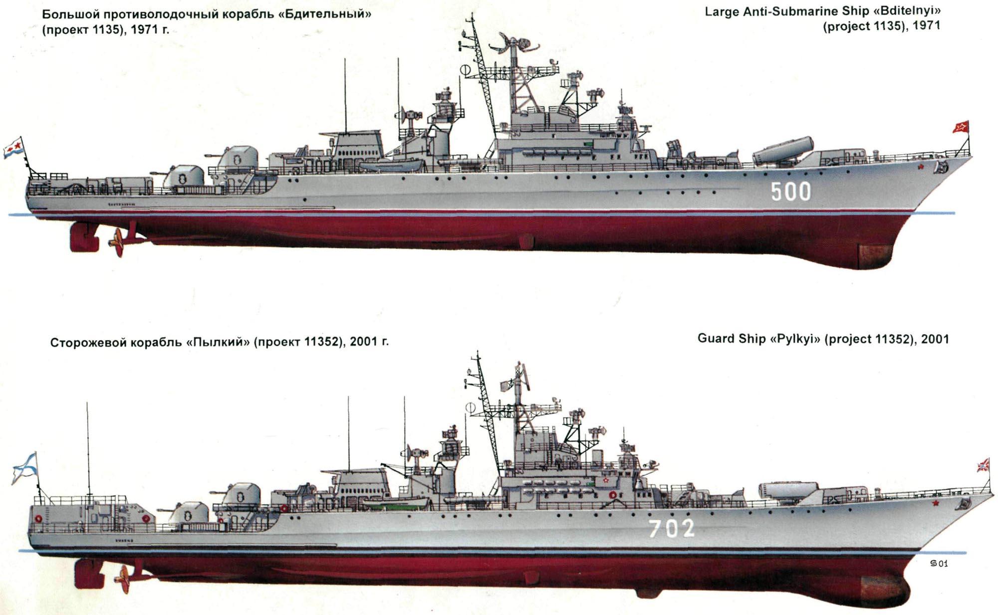 Сторожевые корабли проекта 1135, 11352