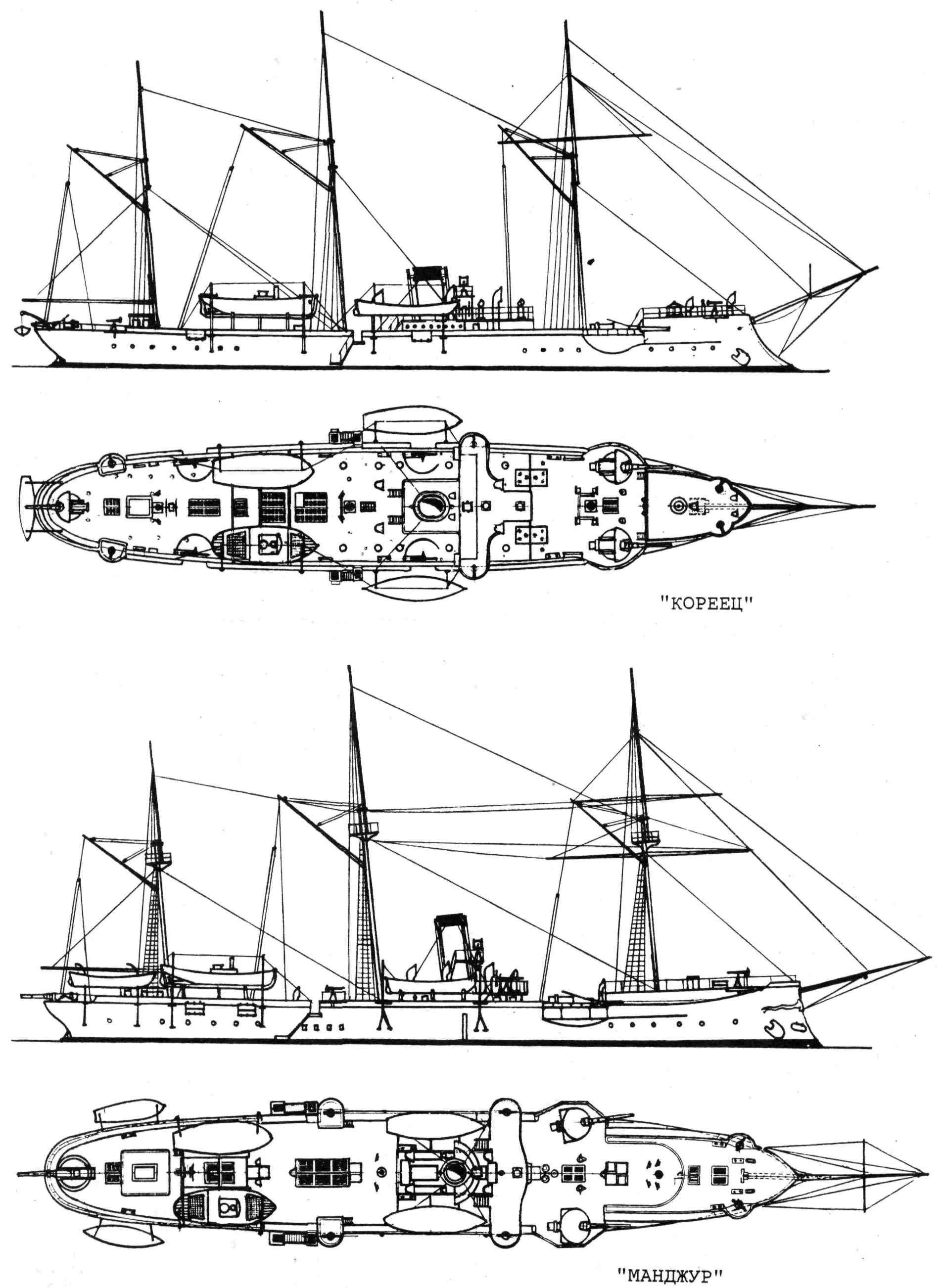 манжур канонерская лодка